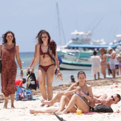 Registra Puerto Morelos auge turístico por la Semana Mayor