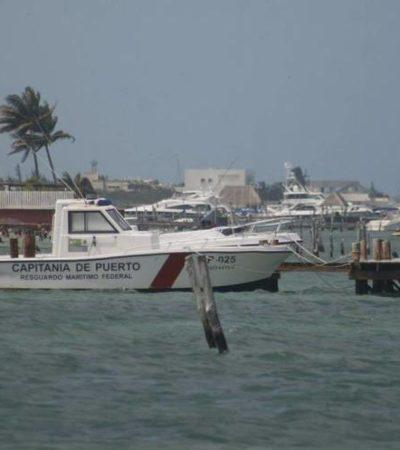 Realizan operativos navales para detectar embarcaciones 'piratas' en Cancún e Isla Mujeres