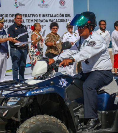 Arranca operativo vacacional 'Semana Santa 2019' en Isla Mujeres