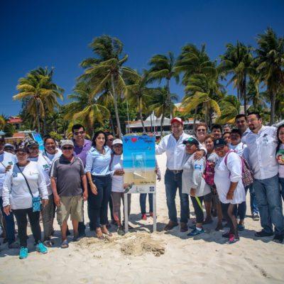 Mantiene Ayuntamiento de Isla Mujeres playas libres de colillas de cara al inicio de la temporada vacacional de Semana Santa