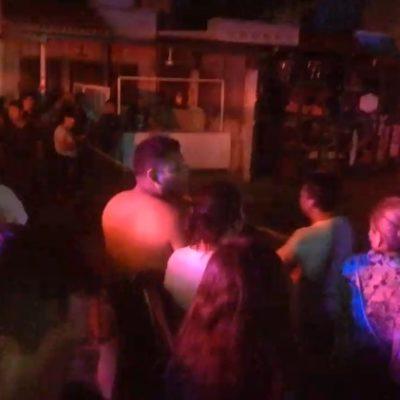 ACTUALIZACIÓN | EJECUCIÓN EN VILLAS OTOCH: Abaten a balazos a un joven en la Región 247 de Cancún