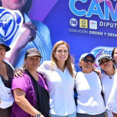 MANTIENEN EN LA PALESTRA EL DEBATE POR LA SEGURIDAD EN SOLIDARIDAD: Laura Beristain perjudica a ciudadanos al obstaculizar coordinación entre organizaciones policiacas, acusa Lili Campos en campaña por una diputación