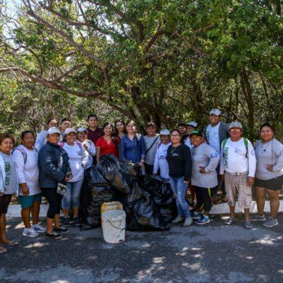 Promueve gobierno municipal mantener Isla Mujeres verde con reto 'Basura Challenge'