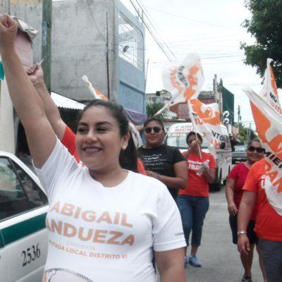 En abandono alrededor de 51 inmuebles de casetas de policías, mientras Cancún convulsiona en crímenes: Abigail Andueza