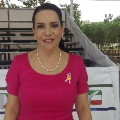 Sí hay lentitud federal en sargazo y promoción turística, admite Adriana Teissier