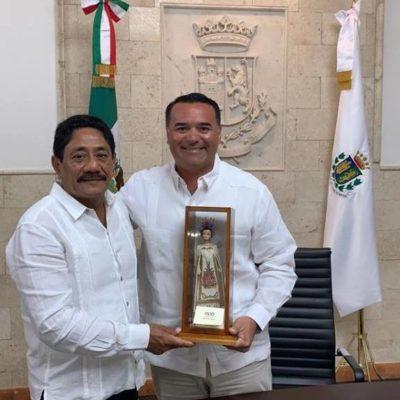 Ante conflictos con el gobierno de Carlos Joaquín, Othoniel Segovia recurre a intercambio de estrategias de seguridad y solución de problemas de basura con alcalde de Mérida