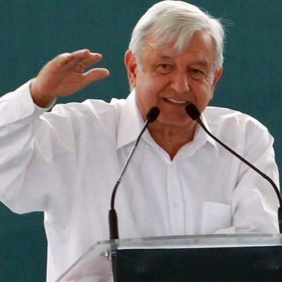 Anuncia López Obrador federalización de los sistemas de educación y de salud