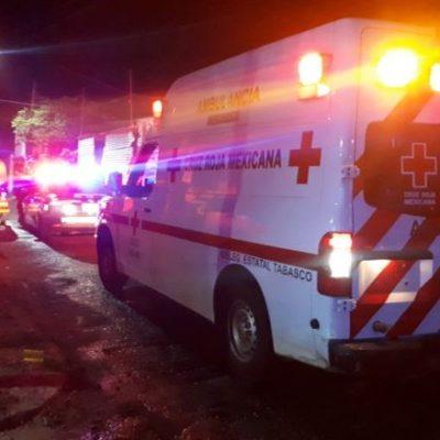 Asesinan a un policía de Tabasco en un aparente acto de venganza; dejan malherido a uno de sus hijos