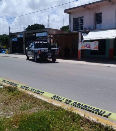 Ataque a balazos en la Región 236 de Cancún con saldo de una persona herida