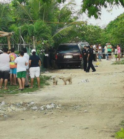 ATAQUE A BALAZOS EN LA BELLAVISTA: Saldo preliminar de un muerto y tres heridos en Playa del Carmen