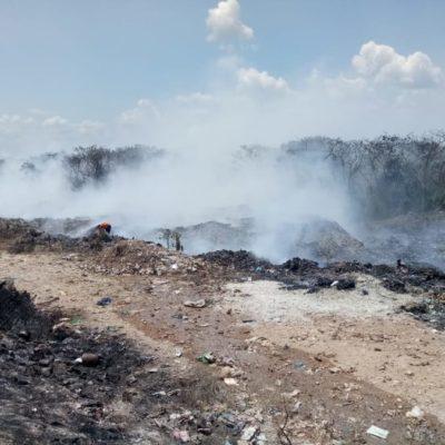 Aseguran autoridades de Chetumal que detectaron al presunto responsable del incendio en el basurero del municipio