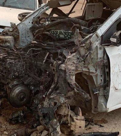 Estalla 'auto bomba' frente a sede de autodefensa en Acapulco, a cuatro días del Tianguis Turístico