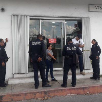 Reportan presunto robo a cajero HSBC de Cozumel