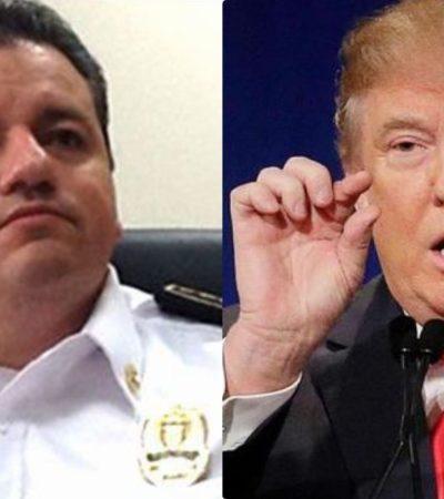 Rompeolas: Capella le copia el estilo a Trump