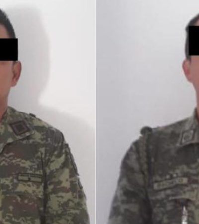 Quedan a disposición de la Fiscalía de Chiapas dos capitanes del Ejército por el crimen de Brenda Matuz