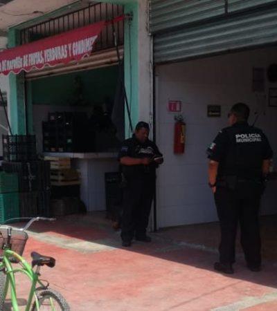 Asaltan carnicería en Playa del Carmen; se llevan efectivo de caja y pertenencias de clientes