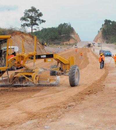 Dan primeros contratos del sexenio para construcción de carreteras por casi mil 500 millones de pesos