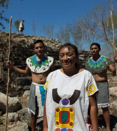Abren al público zona arqueológica de Chaltún Há ubicada en el Pueblo Mágico de Izamal, Yucatán