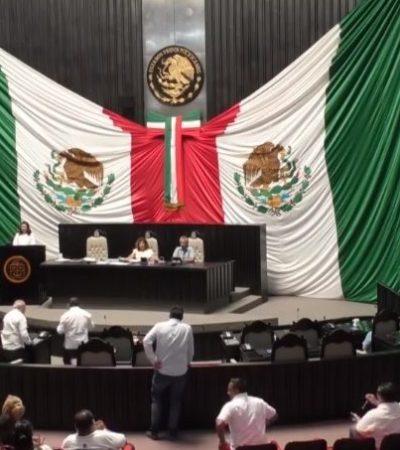 Padilla Balam y Mis Balam, presidente y vicepresidente de nueva mesa directiva en la XV Legislatura