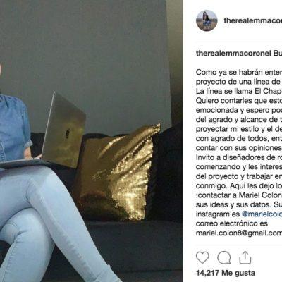 'TENDRÁ MI ESTILO Y EL DE JOAQUÍN': Convoca Emma Coronel a diseñadores para su empresa de ropa