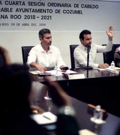 Aprueba Cabildo de Cozumel destrucción de 117 sellos vencidos con leyendas y logotipos de administraciones pasadas