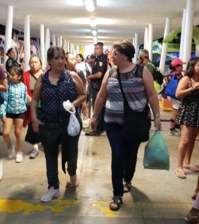 Vuelven a cancelar salidas de ferrys por fuerte oleaje entre Cozumel y Playa, pero navieras se niegan a devolver dinero