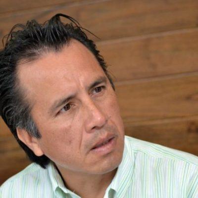 Relega Cuitláhuac García a fiscal estatal de asistir a mesas de seguridad en Veracruz