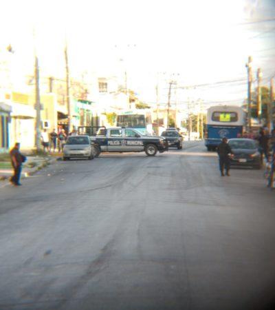 Realizan detonaciones de arma de fuego contra el bar 'Génesis' en la SM 70 de Cancún