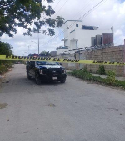 Hallan bolsas con restos descuartizados de un hombre por la Avenida Politécnico de Cancún; asesinos huyen