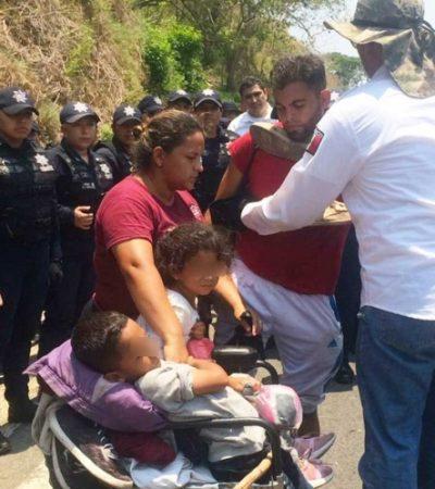 Darán tarjeta de visitantes a migrantes detenidos en Chiapas; quienes no la acepten serán deportados