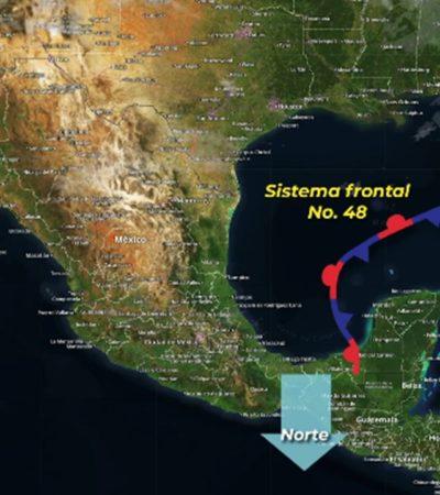 Se esperan tormentas fuertes en el sureste del país y la península de Yucatán
