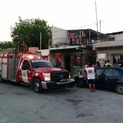 Queman y disparan contra casa en Playa del Carmen; un taxista, lesionado