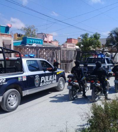 Suenan disparos contra presunta narcotiendita en la 247 de Cancún; no hay heridos