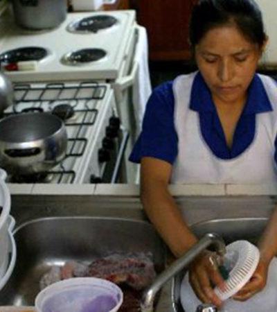 Aprueba Senado derechos laborales para empleadas domésticas; tendrán vacaciones pagadas, entre otros