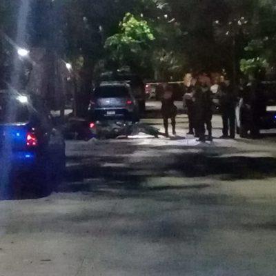 EJECUCIÓN EN JUEVES SANTO EN CANCÚN: Asesinan a motociclista por la Bonampak, la SM 3, en pleno centro de la ciudad