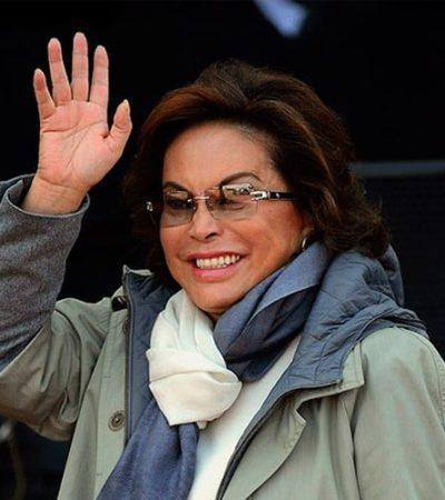 Descarta AMLO pacto para devolver bienes a Elba Esther; 'paga' alianza electoral, según la oposición