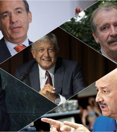Analiza AMLO consulta ciudadana sobre 'juicio' a ex Presidentes aunque resultados no sean vinculantes
