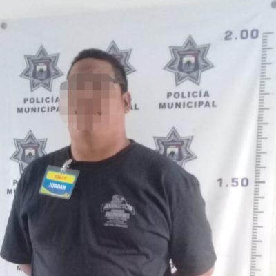 Detienen a un extorsionador en Cozumel