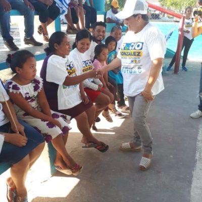 Ofrece Rocío González legislar desde el Congreso para aterrizar más apoyo a programas sociales