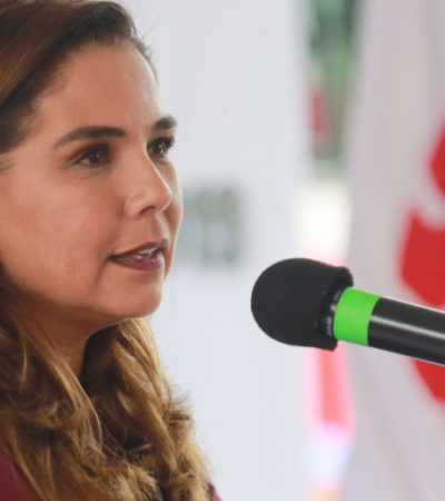 "Para ""promover a Cancún como un sitio líder en materia turística"", Mara Lezama se va la Tianguis de Acapulco"