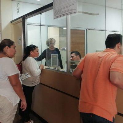 Padecen derechohabientes yucatecos retraso en servicio por fallas del sistema de cómputo en el IMSS