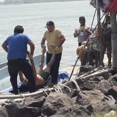 Muere oficial de la Fuerza Civil por golpe en la cabeza durante operación de rescate marítimo en Veracruz