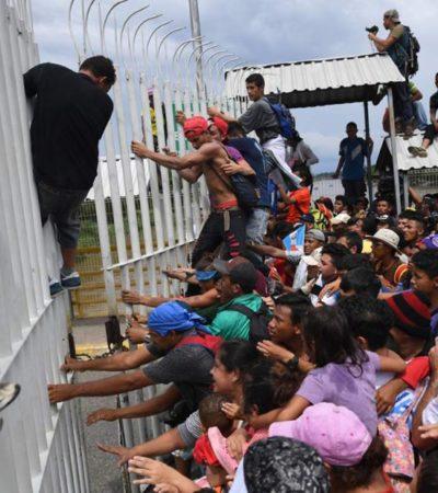 Lideran cubanos motín y fuga en estación migratoria de Chiapas; reagrupan a 700 y hay 600 no ubicados