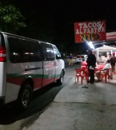 SE DETUVO A COMER UNOS TACOS Y…: Reportan fuga de indocumentado bajo resguardo de un agente de Migración en Cancún
