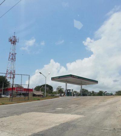 Asaltan gasolinera en la carretera federal, entre Tulum y Puerto Aventuras
