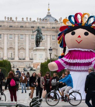 Muñeca artesanal de Amealco, Querétaro, se lanza a la conquista de España y otras ciudades del mundo