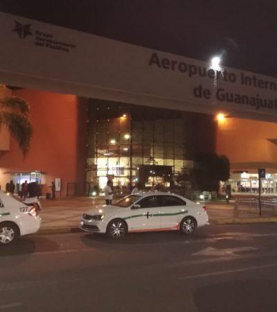 ATRACO DE PELÍCULA:  Irrumpe Comando en pista del aeropuerto de Guanajuato y roba 20 mdp de camión de valores