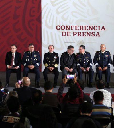 Designan a un militar en proceso de retiro al frente de la Guardia Nacional; Luis Rodríguez Bucio fue Comandante de la Guarnición Militar de Cancún