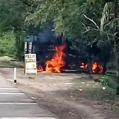 Caen dos presuntos huachicoleros tras enfrentamiento con marinos en Huimanguillo, Tabasco