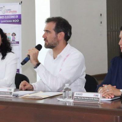 """""""Ieqroo está trabajando bien y se observa en el fortalecimiento de la democracia en QR"""", afirma Lorenzo Córdova, presidente del Consejo General del INE"""